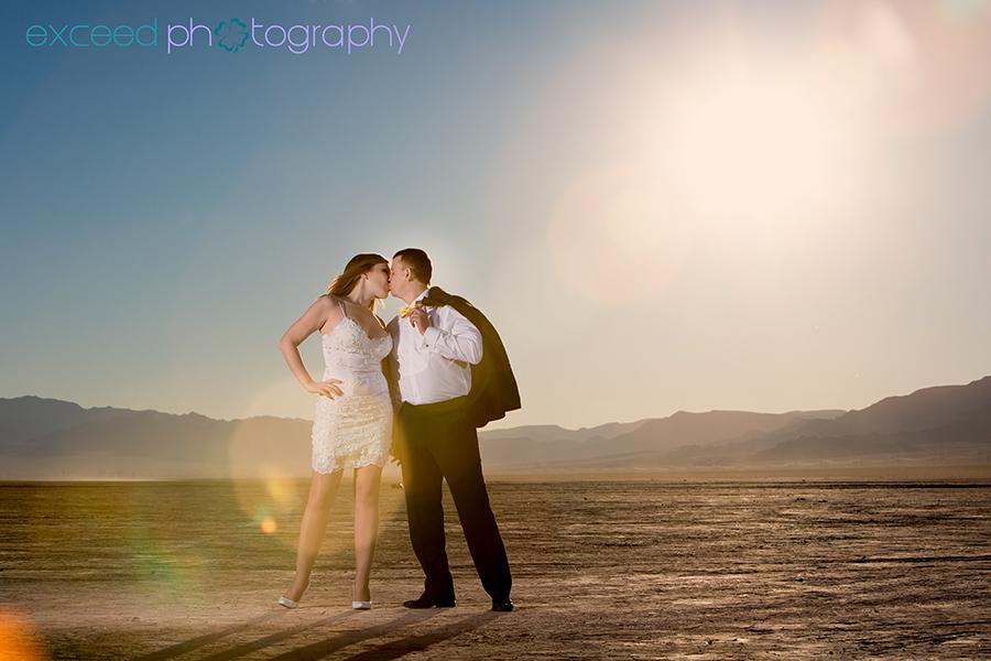Dry Lake Bed Photo Shoot Of Lesia And Sasha Las Vegas Wedding Photographer