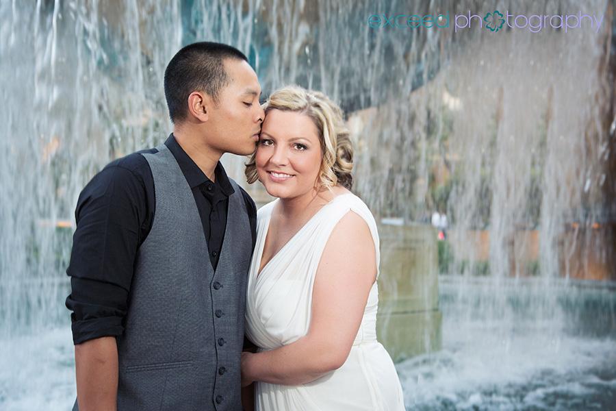 Las Vegas Wedding Strip Photo Tour Of Rachel And Nick