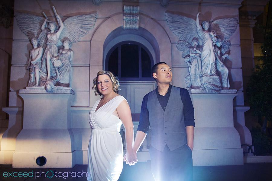 Pinterest Pin To Las Vegas Strip Wedding Photo Tour