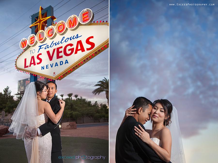 Las Vegas Strip Wedding Photo Tour Fifi Sam