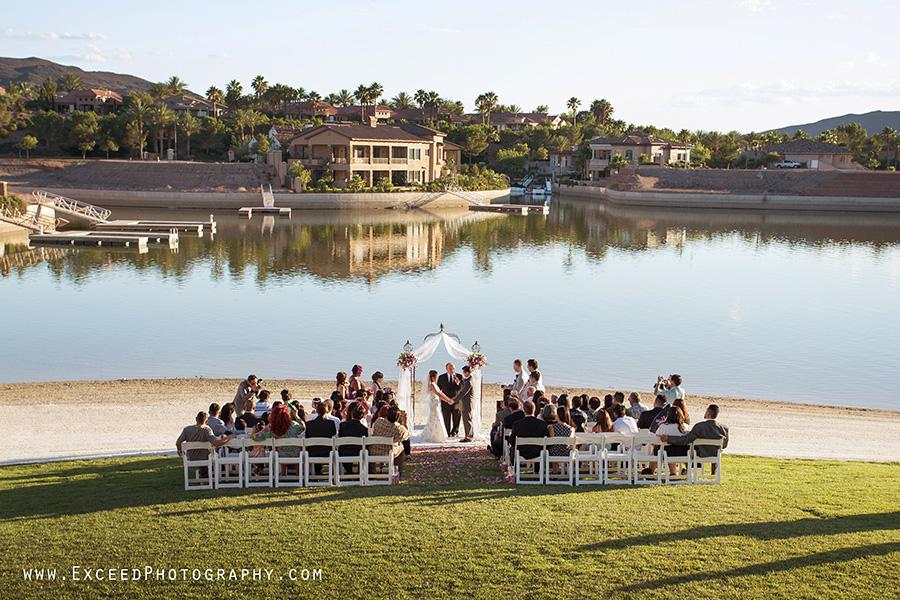 The Lake Club At Lake Las Vegas Wedding Carino And Marjorie