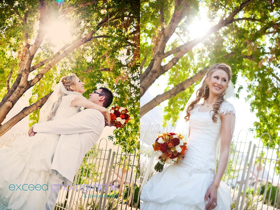 Wedding Photography Las Vegas Nevada: Wedding Portrait Session At Las Vegas Nevada LDS (Mormon