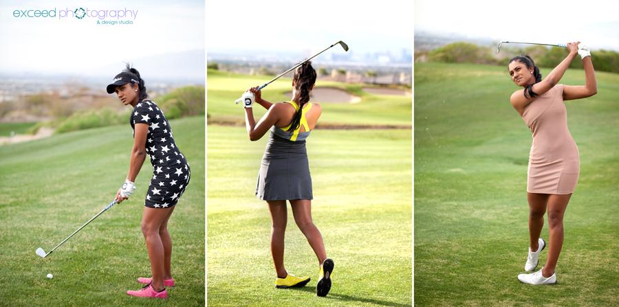 Lifestyle Portraiture Golf Las Vegas Commercial