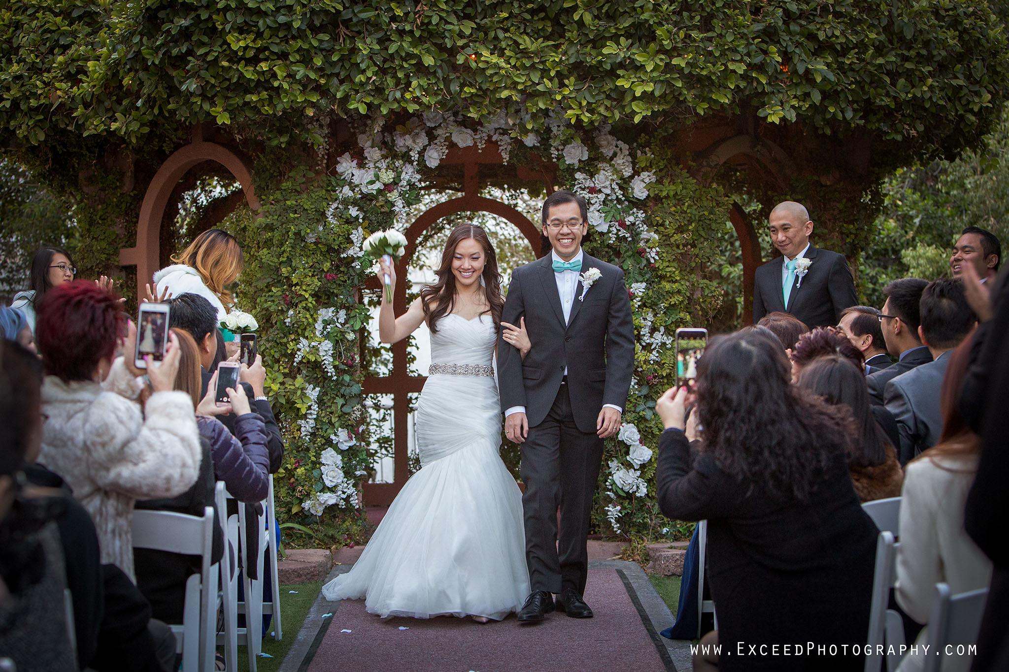 Flamingo Wedding Ceremony And The Reception At Sparklings Las Vegas