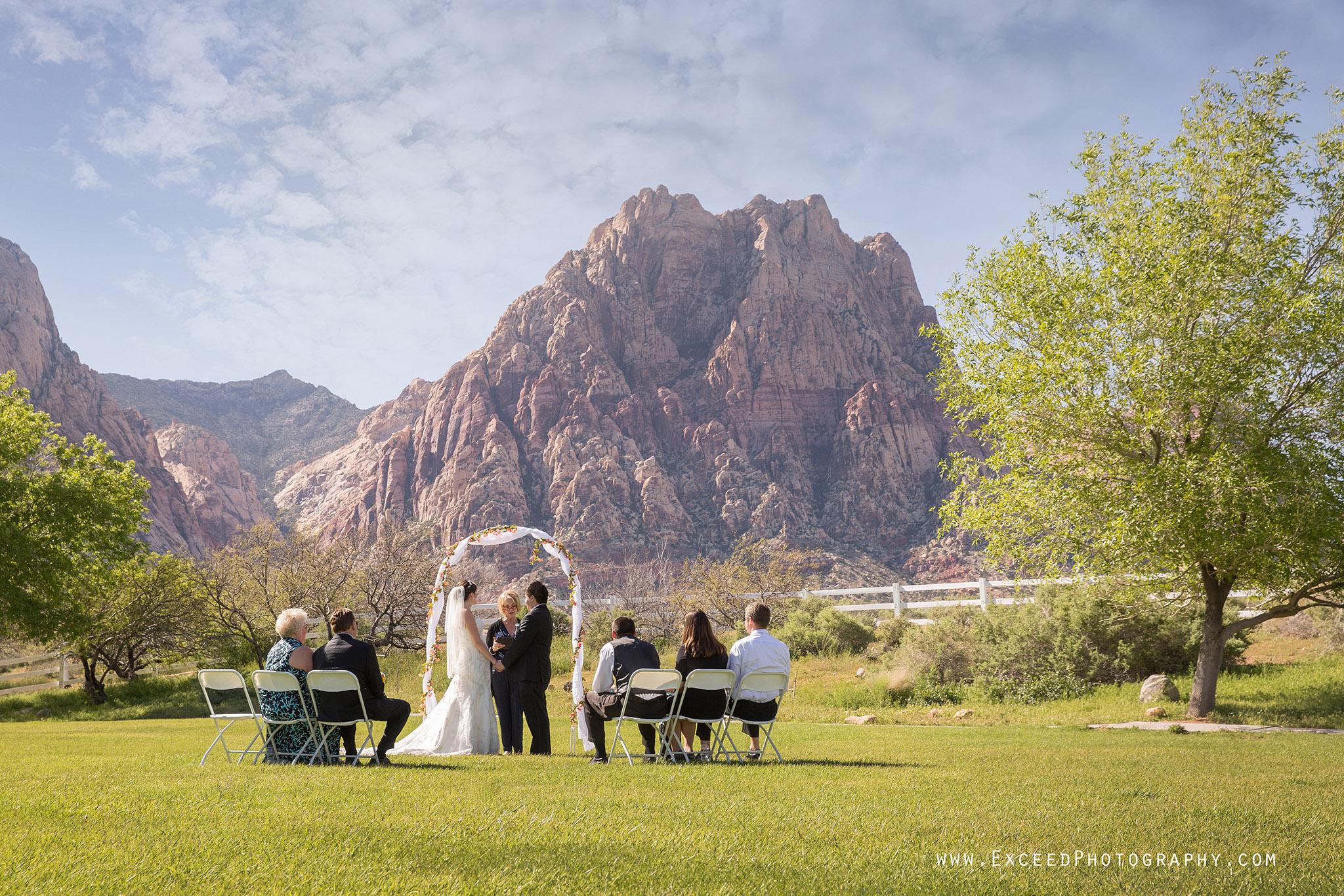 Spring Mountain Ranch Wedding Erika Frank