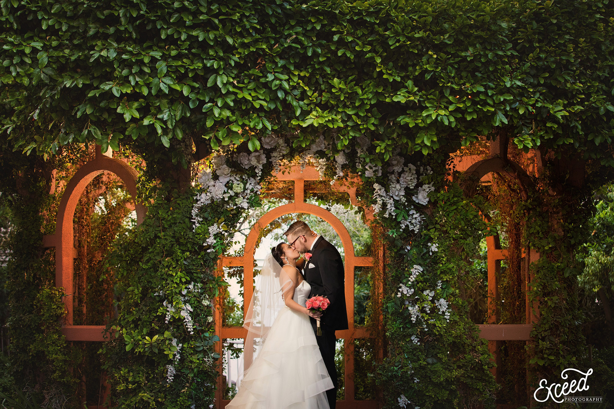 Wedding At The Garden Chapel Flamingo Las Vegas Alicia Scott
