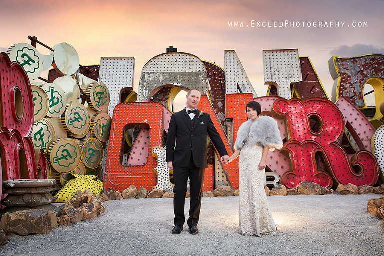 Las Vegas Elopement Lysa And Sean